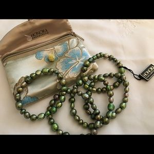 Honora pearl 5- piece bracelet set